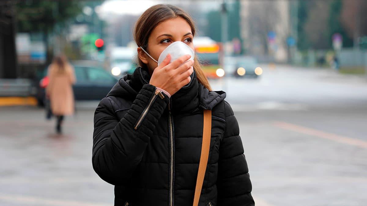 Los altos niveles de contaminación aumentan la gravedad de la Covid-19